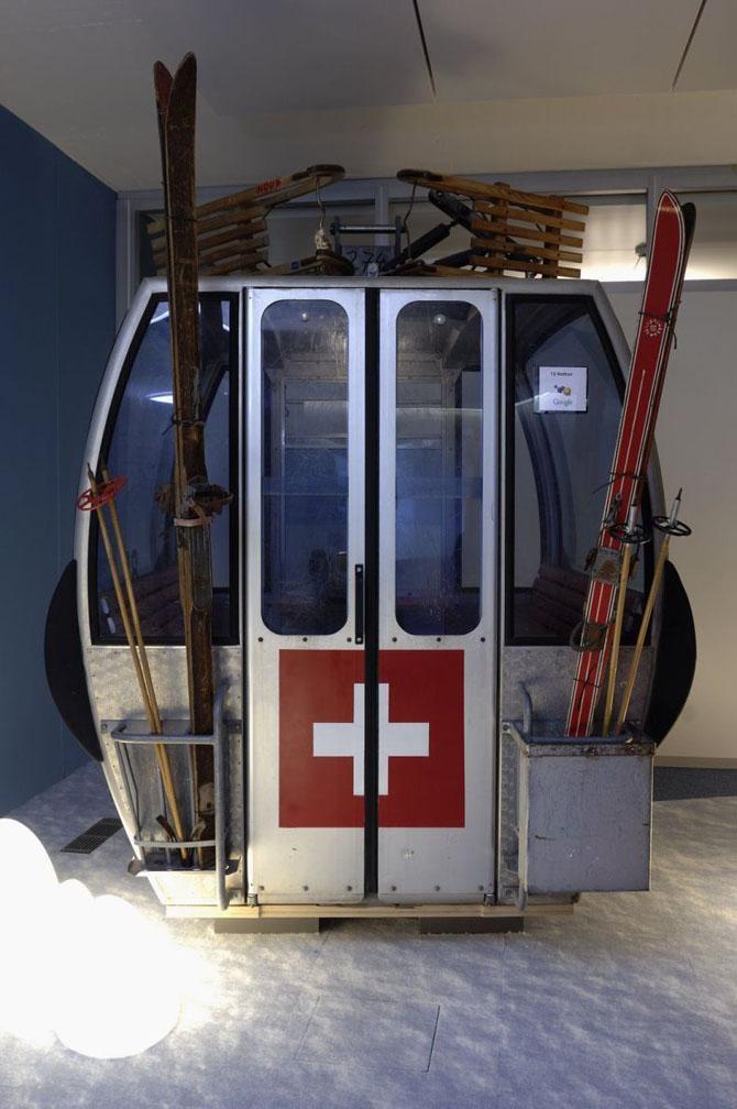 Как выглядит офис Гугла в Цюрихе