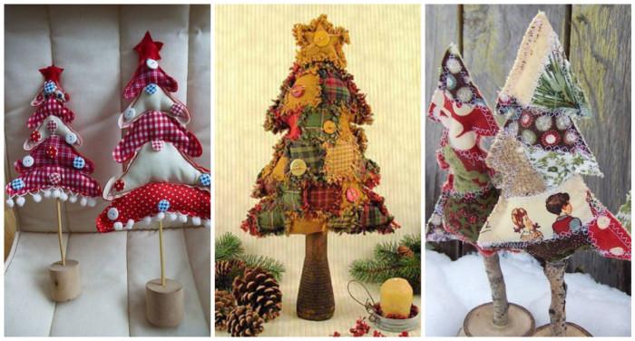 Как сделать необычную новогоднюю елку своими руками - креативные идеи
