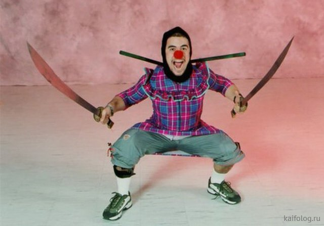 Подборка приколов про ниндзя - смешные картинки
