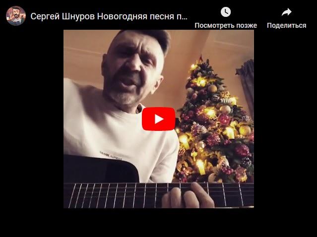 Новогодняя песня 2018 от Сергея Шнурова