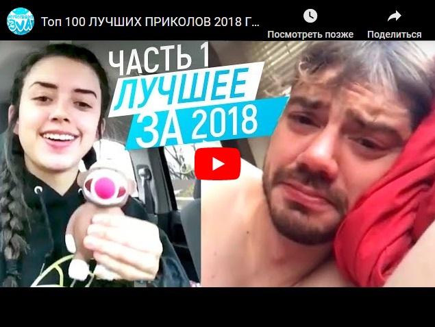 Топ-100 лучших видеоприколов 2018 года от Корпорации зла