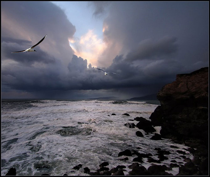 Корабли и природа - просто красивые картинки