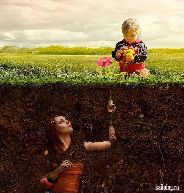 Креативные фотоприколы от дизайнеров