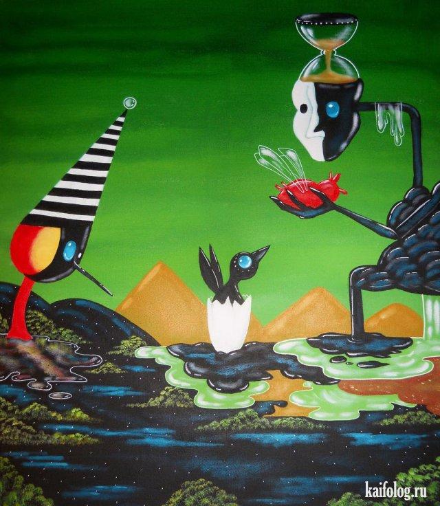 Современное искусство - подборка странных картин
