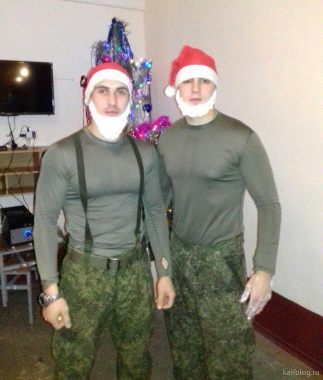 Армейские приколы - сборник смешных картинок