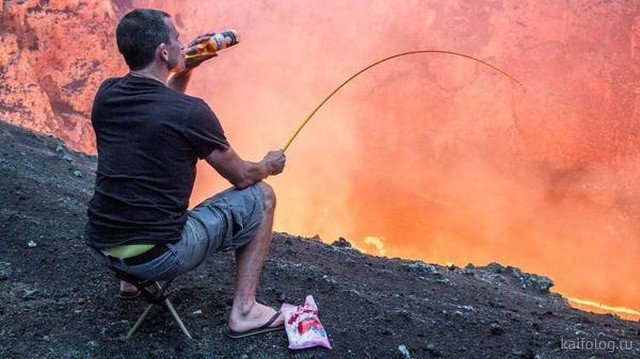 Смешные картинки про рыбалку