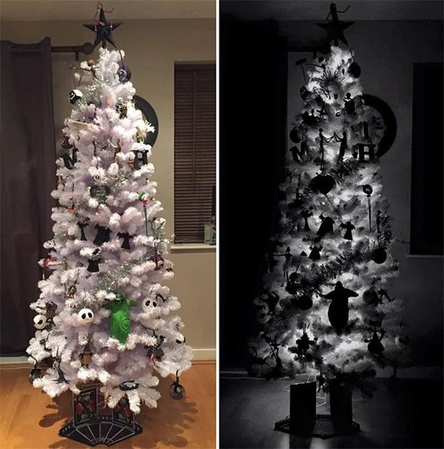 Самые странные новогодние елки. Прикольные фото