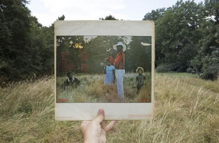 Фотографии с винила - фотограф потратил 10 лет на поиск этих мест