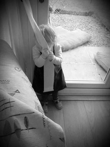 Маленькие мастера маскировки - приколы про детей