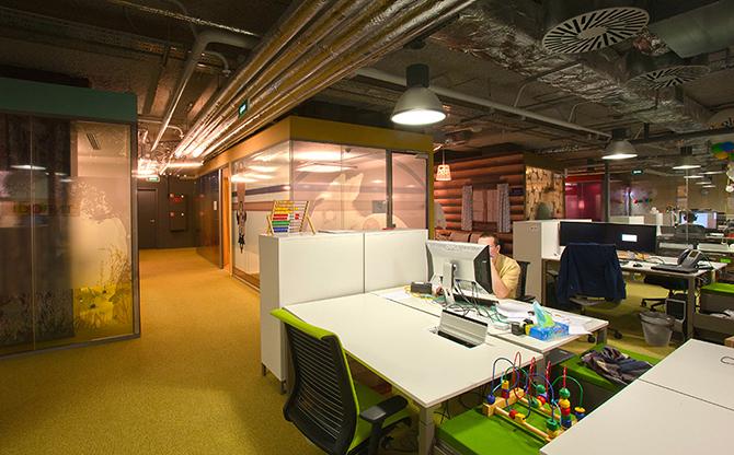 Как выглядит офис Гугла в Москве