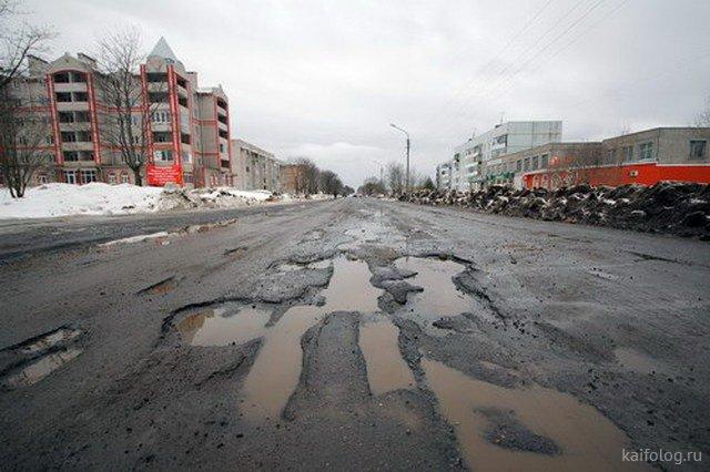 Эх дороги... Весна в России
