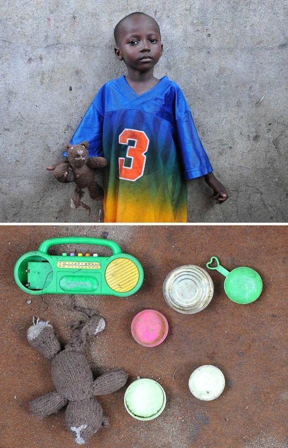 Игрушки африканских детей