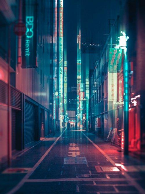 Красивые снимки ночного Токио