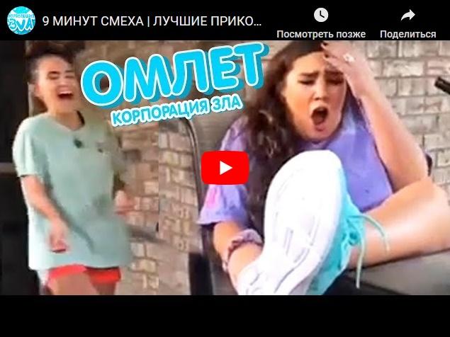 9 минут смеха - лучшие приколы на видео от Корпорации зла