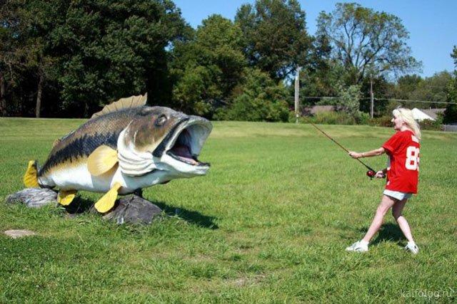 Приколы про день рыбака - смешные картинки
