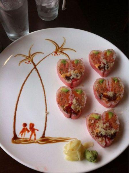 Самая креативная еда
