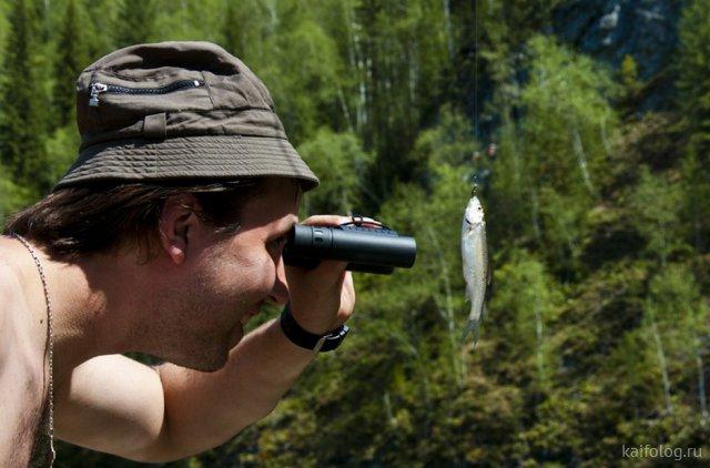День рыбака - подборка смешных картинок